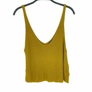 Forever 21 Women's Ribbed Sweater Knit Tank Top